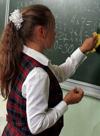 Schoolgirl. photo