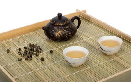 chinese tea.   Isolated photo