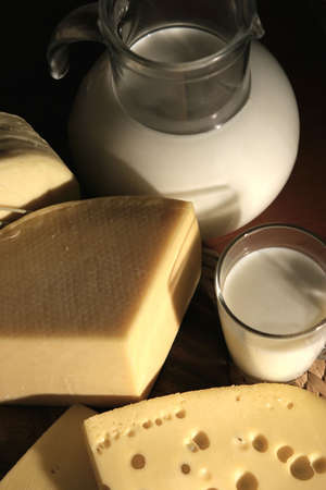 pasteurized: cheese and milk