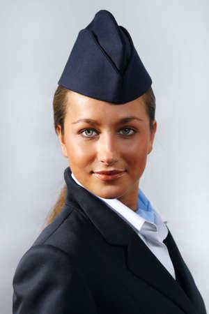 hotesse de l air: H�tesse de l'air (h�tesse de l'air). Portrait