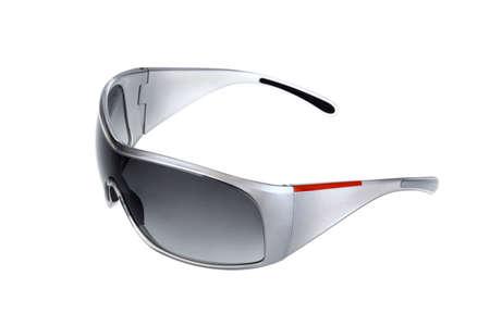 sole occhiali: Occhiali da sole. Isolato su bianco.