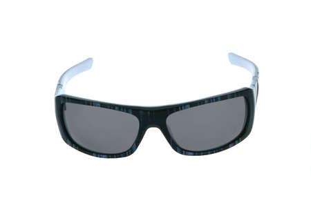 sole occhiali: occhiali da sole su sfondo bianco. Archivio Fotografico