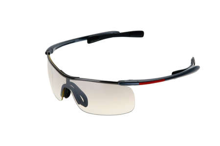 Sports sun glasses isolated on the white background. photo