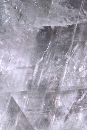 crystal background: Quartz crystal background. Close up