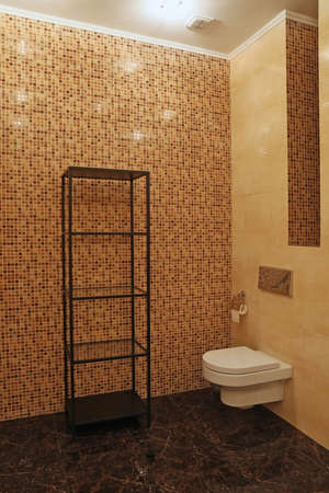 luxury bathroom: Fragment of a luxury bathroom Stock Photo