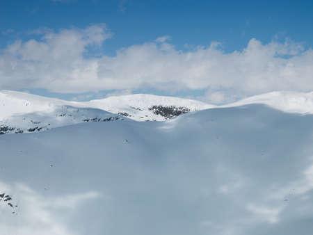 hardanger: The Hardanger Glacier Area Stock Photo