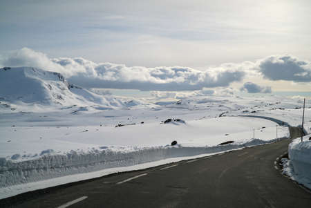 endless: Endless winter road