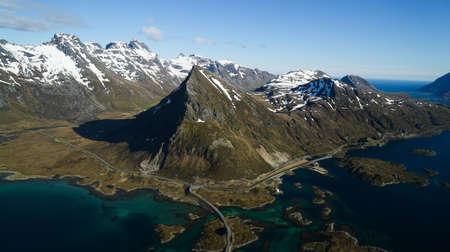 lofoten: Peaks of Lofoten in Norway