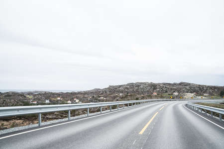 Roads in south of Norway