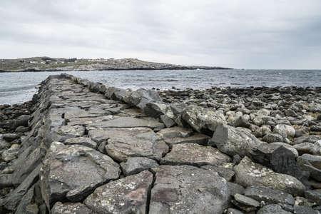 Golfbreker in het zuiden van Noorwegen