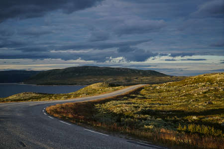 hardanger: The Hardanger Area in Norway Stock Photo