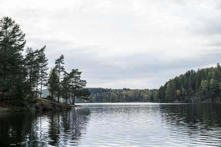 Nøklevann lake near, Oslo, in Norway