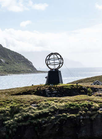 The Arctic Circle Globe in North Norway