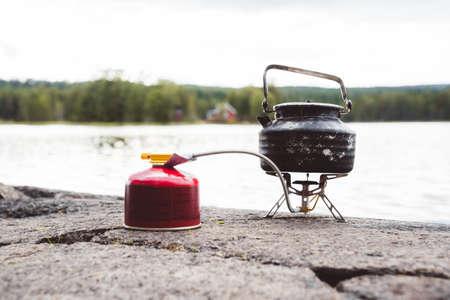 南ノルウェーのストロヨンゲン湖 写真素材
