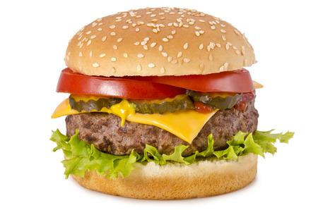 comida gourment: Hamburguesa con queso