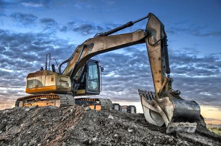 Excavadora Foto de archivo - 34331782