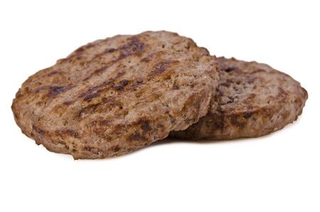 牛肉のハンバーガー