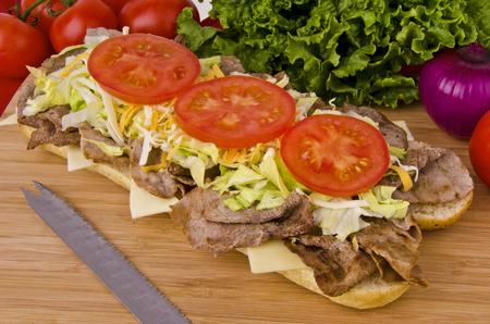 Submarine sandwich Standard-Bild