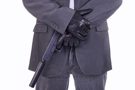 the silencer: Elegant gangster