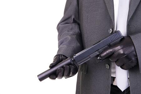 assassin: Elegant gangster hitman assassin