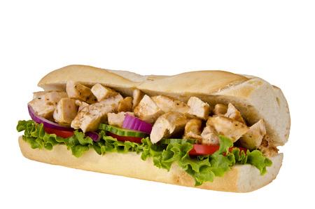 Submarine sandwich 스톡 콘텐츠