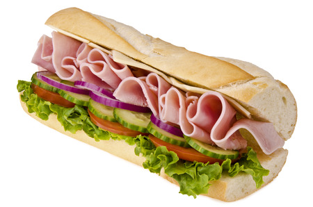 Submarine sandwich 免版税图像