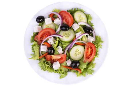 Salade saine Banque d'images - 34903854