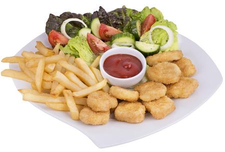 nuggets de poulet: Nuggets de poulet