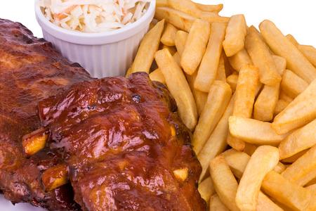 Pork ribs photo