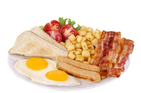 Traditionnal breakfast Standard-Bild