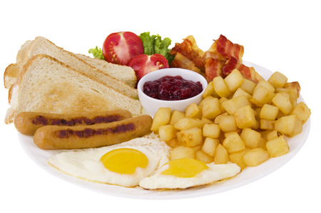 Traditionnal breakfast Stok Fotoğraf