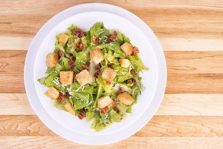 caesar salad: Fresh caesar salad