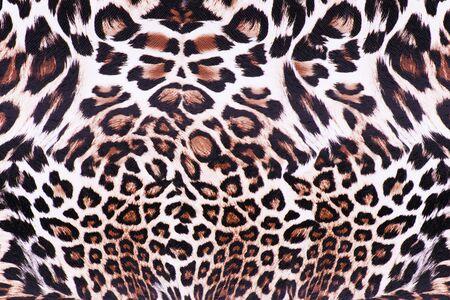 animal skin: Leopard skin
