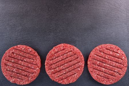 to lean: Burger patties