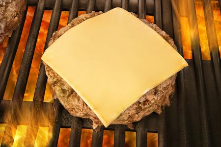 ハンバーガーのパティ