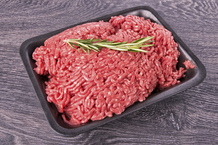 ground beef: Ground beef