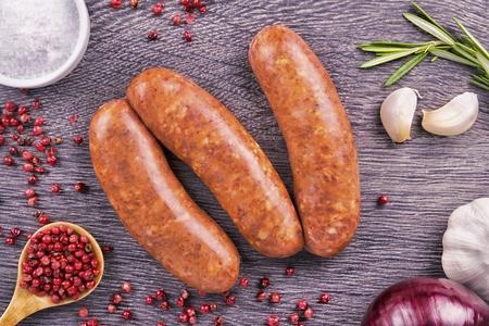 Raw sausage