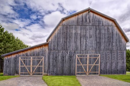 outbuilding: Old barn Stock Photo