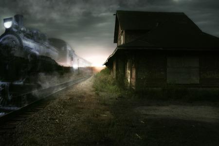 on train: Tren fantasma