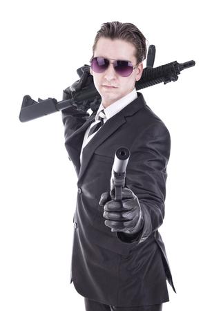 the silencer: Secret agent ou terrorist