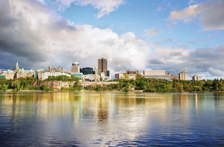 Ottawa city Standard-Bild