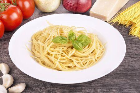 Spaghetti pasta Banco de Imagens