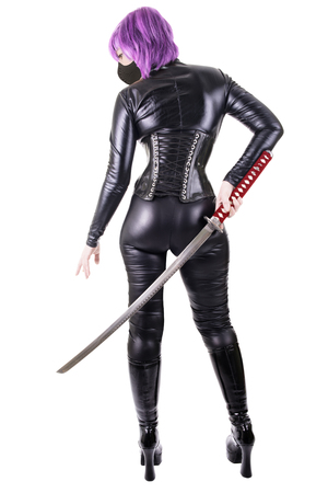 katana: Sexy woman with katana