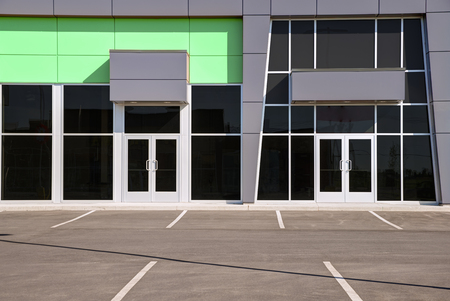 generic location: Unoccupied generic store front, business or professional office space.