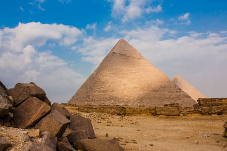 chephren: the Great Pyramid at Giza Plateau