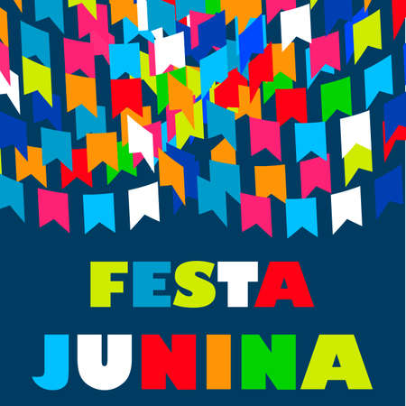 rejoicing: Festa Junina Brazil Festival. Folklore holiday. Festival fire