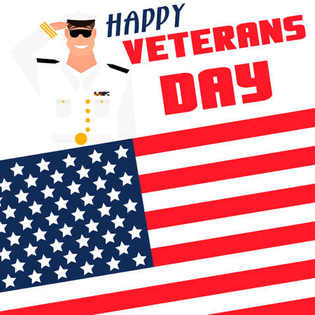 Happy veterans day card template cartoon style royalty free happy veterans day card template cartoon style stock vector 66520283 m4hsunfo