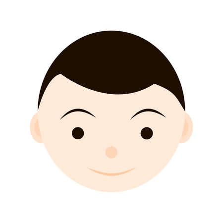 emotion faces: Cute child emotion, faces, kid icon avatar