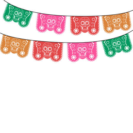 105 Papel Picado Cliparts, Stock Vector And Royalty Free Papel ...