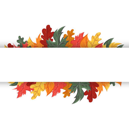 autumn background with the image of a leaf fall. Autumn with leaves.